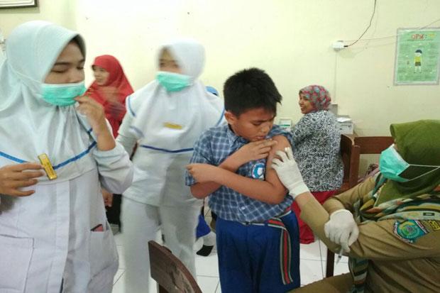 Tangsel Suspect Difteri, 470 Ribu Anak Segara Divaksinasi