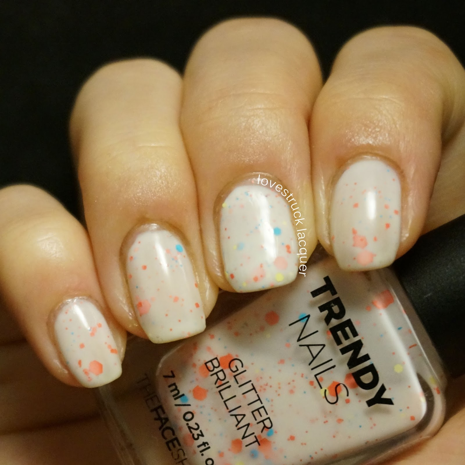 Lovestruck Lacquer: The Face Shop White Crelly Glitter