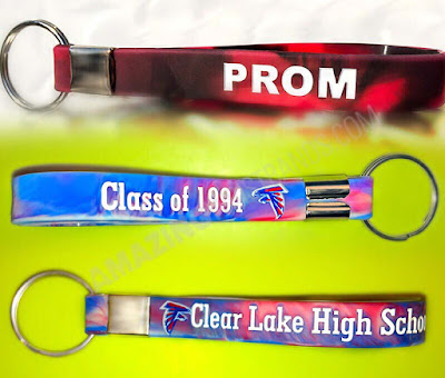Silicone Made School Spirit Keychains