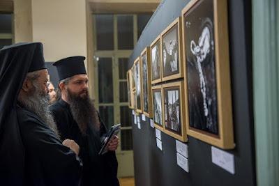 Η πρεμιέρα των «Αικατερινείων 2016» - «Άγιον Όρος: Κατ΄εικόνα του φωτογραφικού βλέμματος» Ντοκουμέντα της ΑΓΙΟΡΕΙΤΙΚΗΣ ΕΣΤΙΑΣ σε ασπρόμαυρο φόντο, από την καθημερινή βιωτή των μοναχών του Άθω