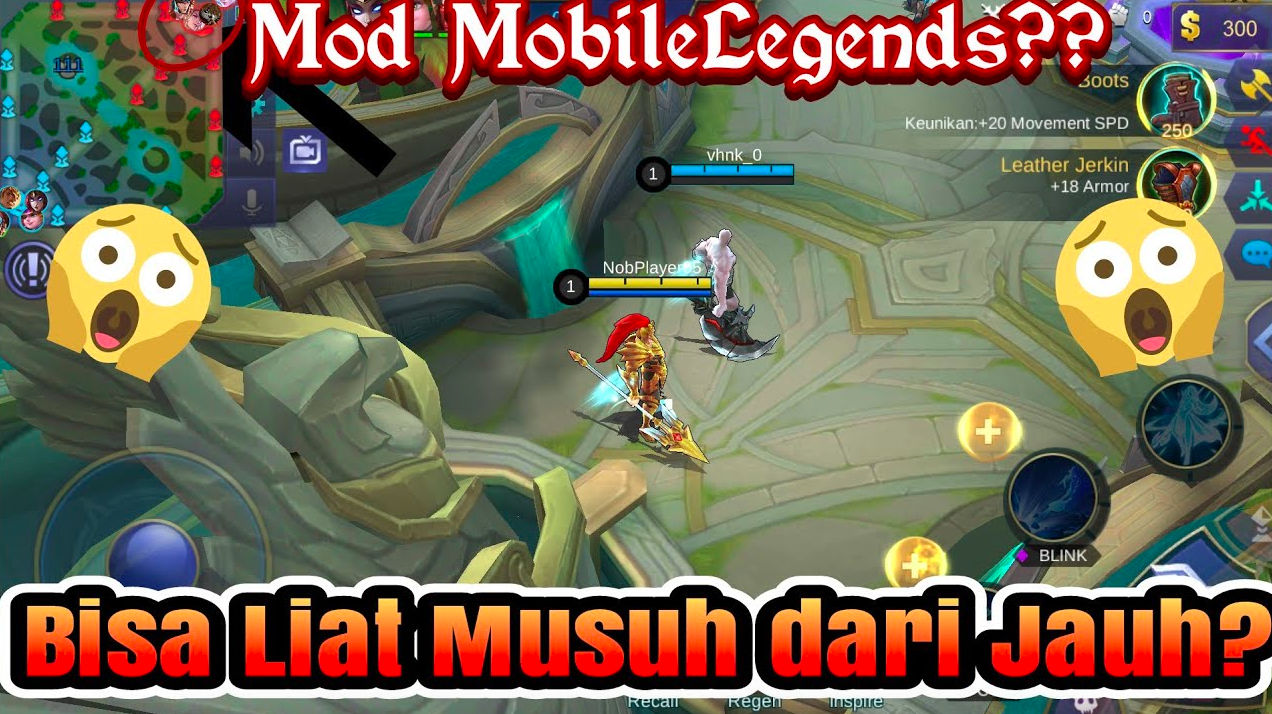 apk mod hack mobile legend 2018