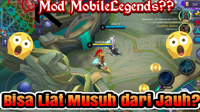 Update Download Mobile Legends Kuroyama Mod Apk Versi Terbaru 2018