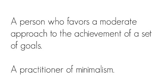 My 2017 Word of the Year: Minimalist