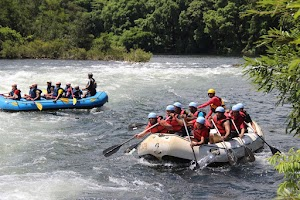 First rapid, Dandeli rafting