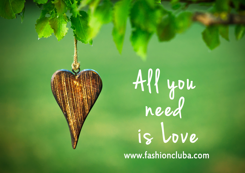 All You Need Is Love Inspirational Quote On