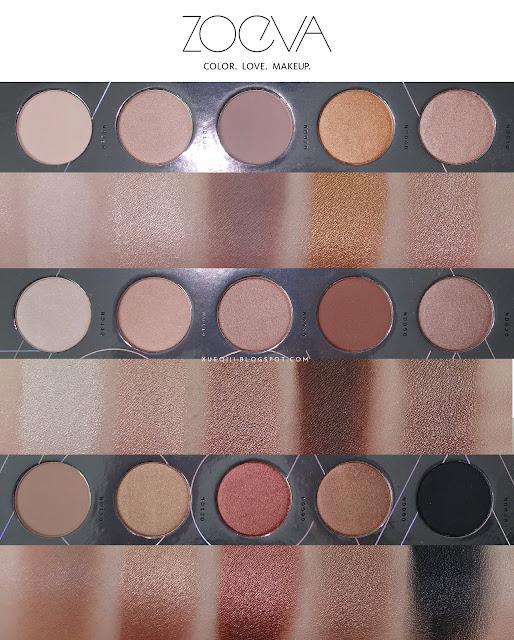 Zoeva Nude Spectrum Blush Palette Review, Photos, Swatches