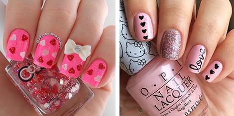 16 so-lovely nail craftsmanship plans for valentine\'s day