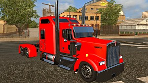 Kenworth W900L modified