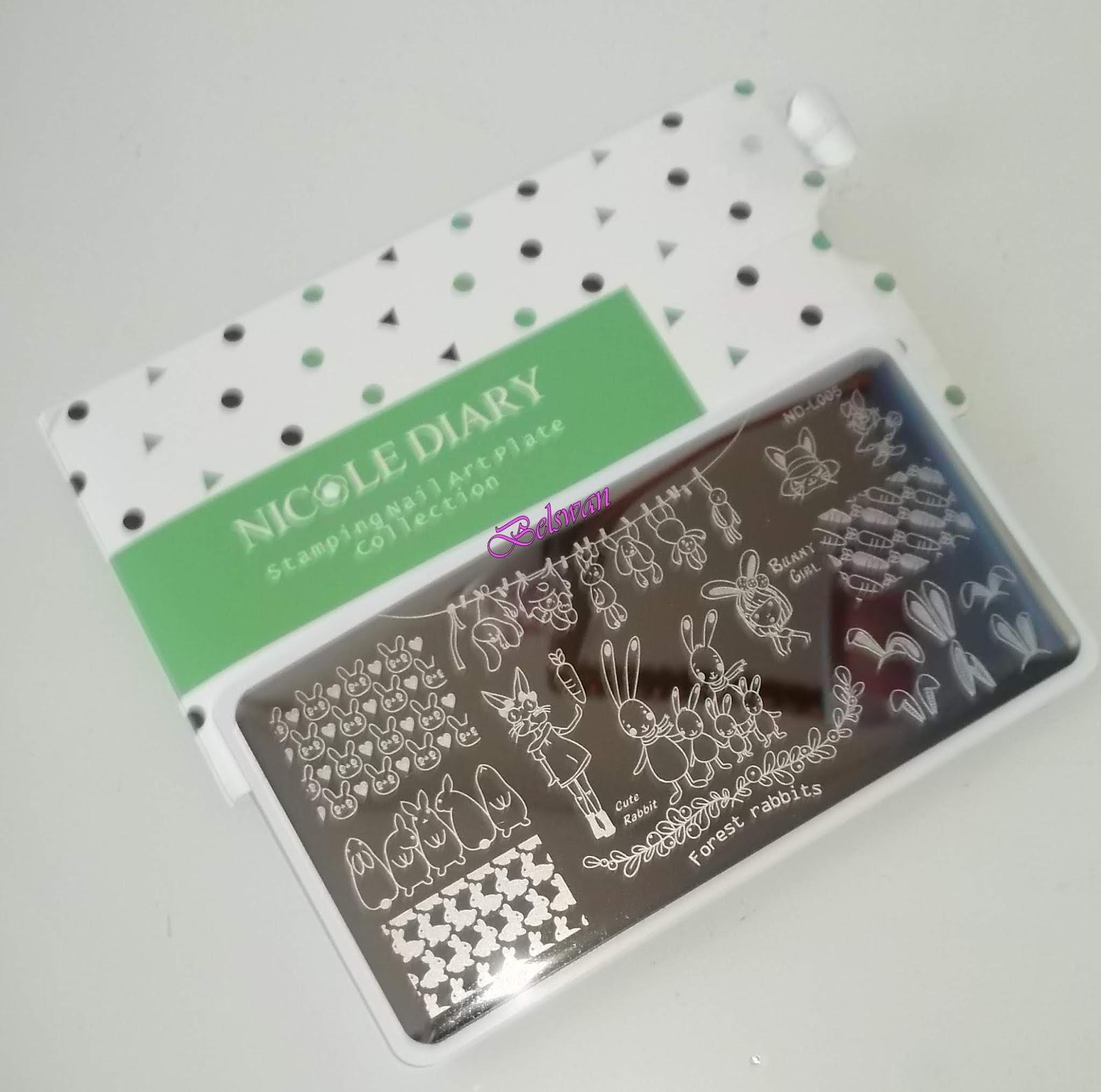 Belswan: Mis cositas de nail art de Nicole Diary