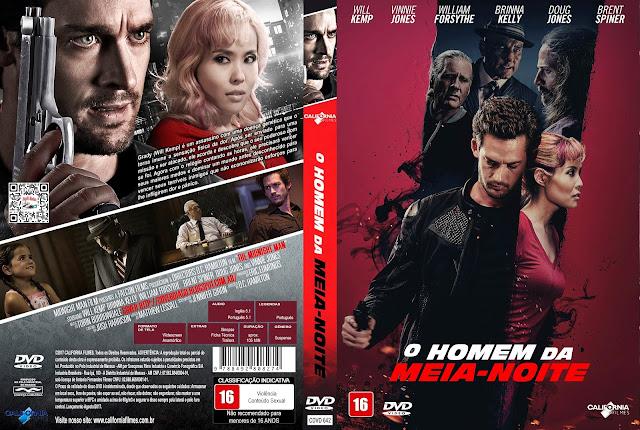 Capa DVD O Homem da Meia-Noite [Custom]