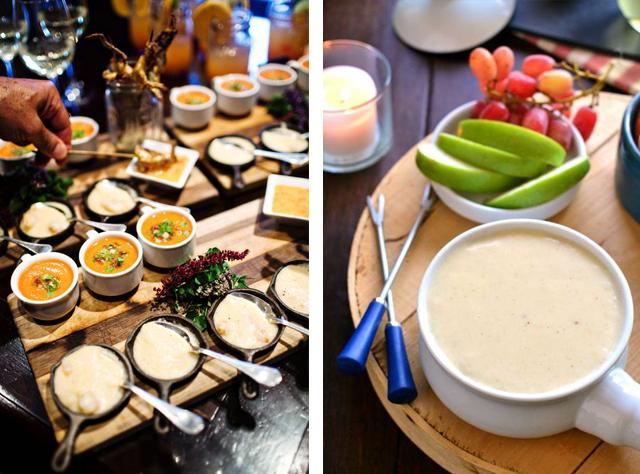 Alimentação, Louça, Decoração, Inverno, Fondue, mesa, comida, dica,