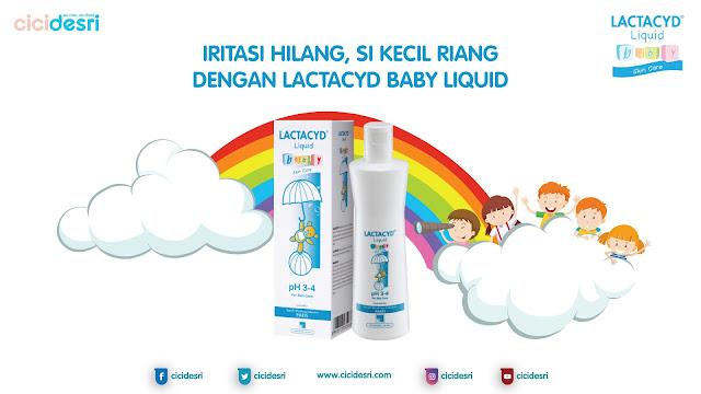 iritasi kulit bayi, lactacyd baby cair