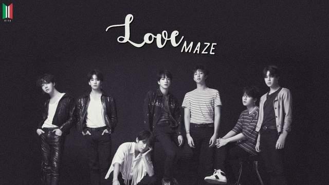 Lirik Lagu BTS Love Maze dan Terjemahan