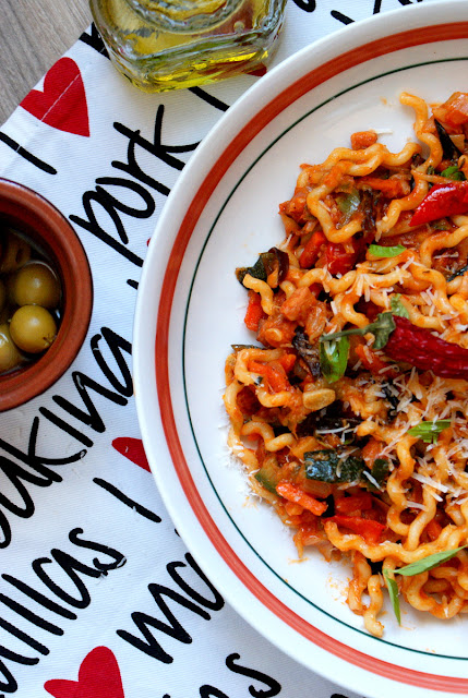 lidl tydzień hiszpański,portugalia,hiszpania,kuchnia lidla,oliwa z oliwek,fusilli,