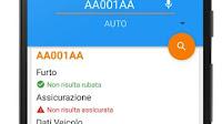 App per controllare targa e assicurazione di ogni veicolo, auto o moto