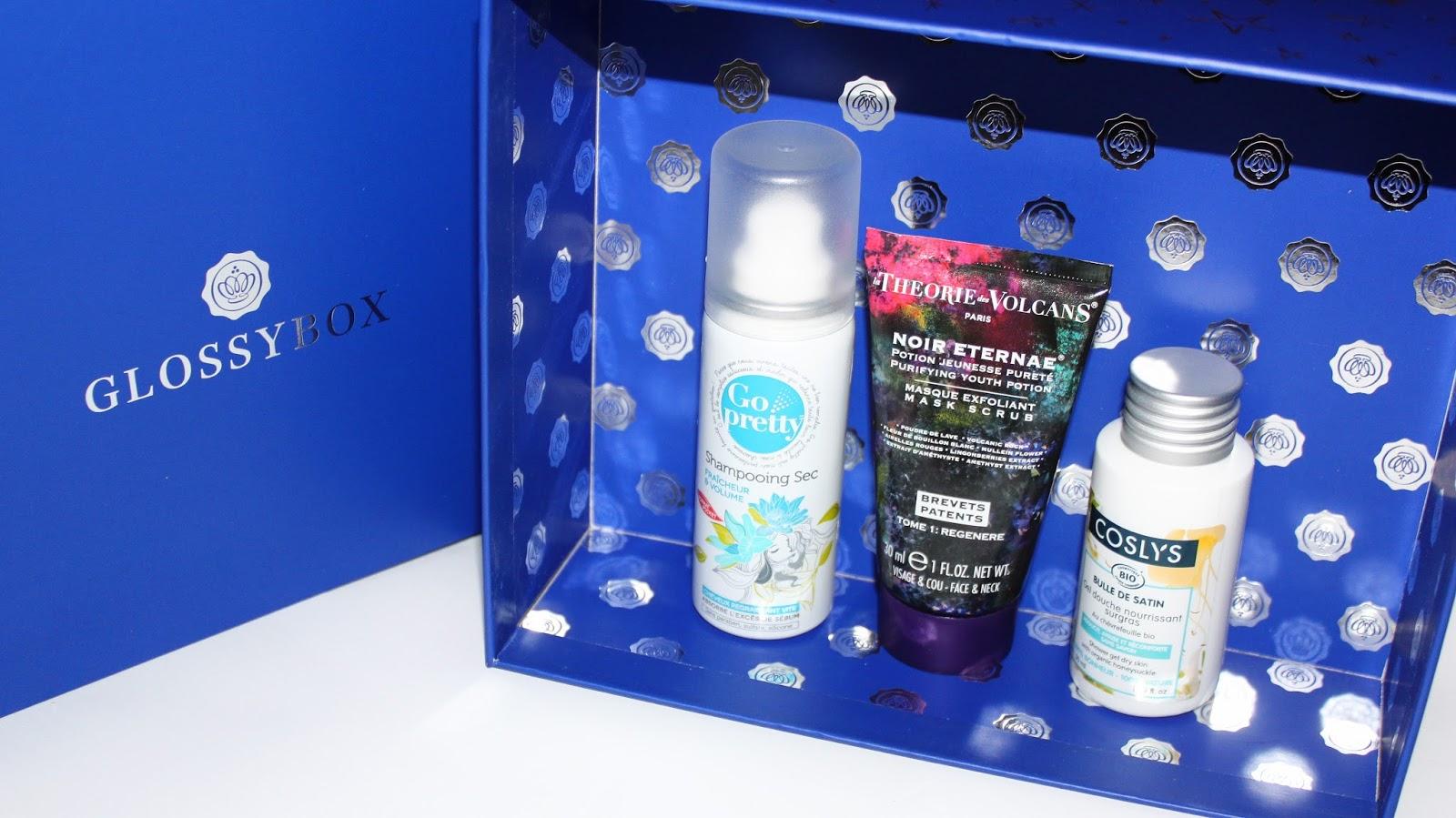 glossybox noël décembre 2016 beauté impériale bleu