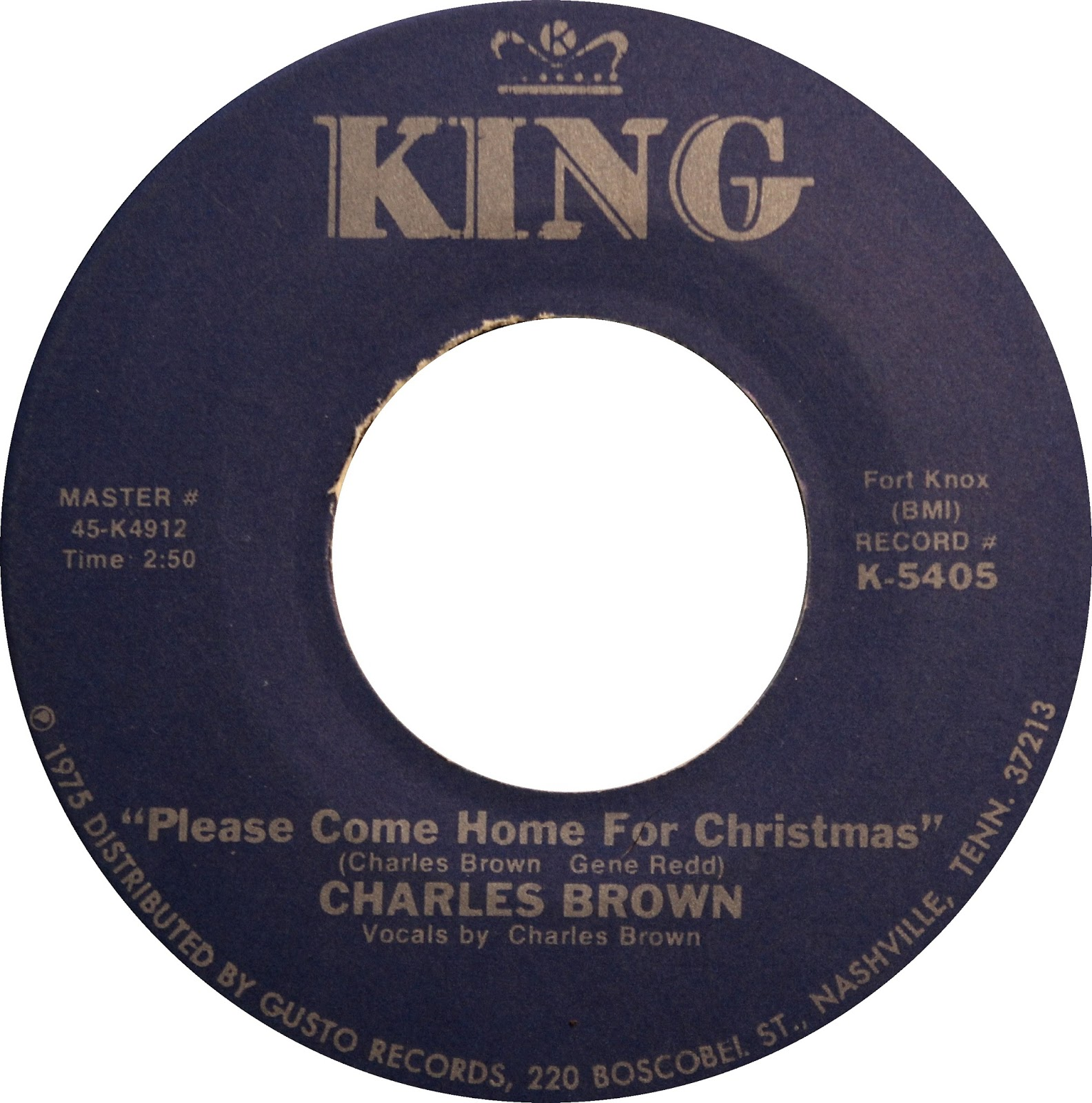 Charles brown please come home for christmas - Will Add To This Post As I Find More Christmas Themed Records Keep Checking Back