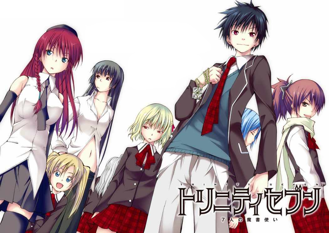 Download Trinity Seven BD Subtitle Indonesia Batch Sub Indo BatchminiHD3gpmp4 480p720p