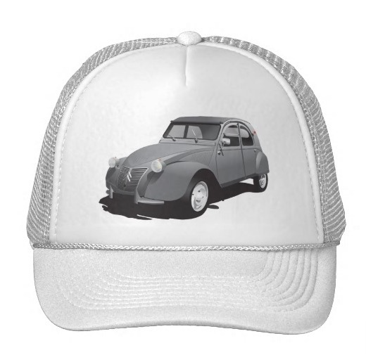 Citroën 2cv trucker hat cap