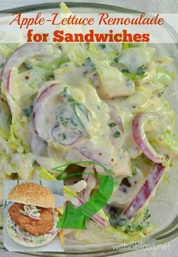 Apple-Lettuce Remoulade (for Sandwiches)