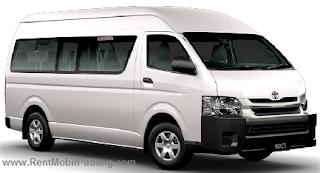 Sewa Mobil Toyota Hiace di Padang