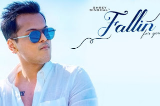 Lirik Lagu Fallin For You - Shrey Singhal