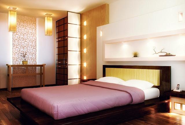 Правильная организация освещения в спальне