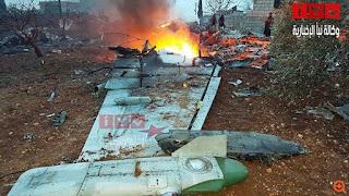 Ρωσικό μαχητικό καταρρίφθηκε στη Συρία