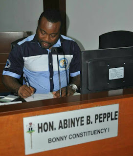 Hon Abinye Pepple To Provide Free – 2017 General Certificate Examination(GCE) Forms To His Constituents