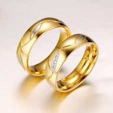 cincin tunangan warna putih