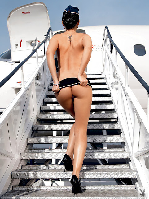Air Hostess Naked your
