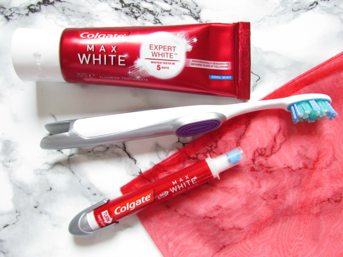Review: Colgate - Max White Expert White Whitening & Bleaching System