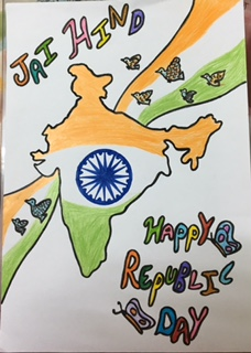 Happy Republic Day Easy Drawing Images For Students 2019 26