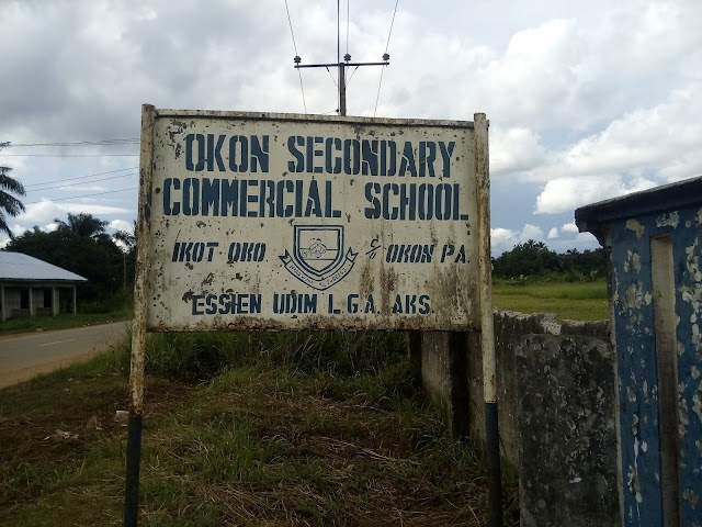 Okon secondary commercial school, ikot oko, Okon