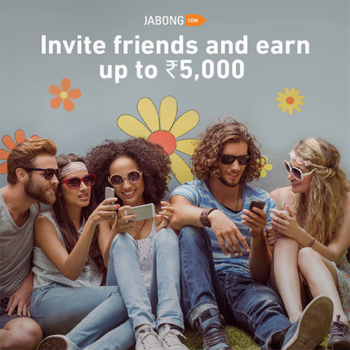 Jabong Invite Friends and Earn Gift Credits