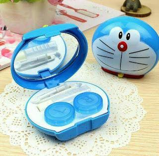 Tempat Softlens / Kotak Softlens Doraemon