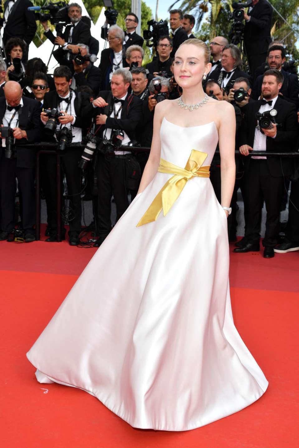 Dakota Fanning – 'Once Upon A Time In Hollywood' Premiere at 2019 Cannes Film Festival