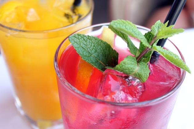 tendencias gastronómicas para bodas: cocteles sin alcohol