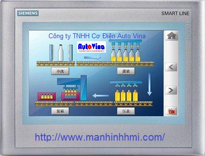 Cung cấp, bán màn hình cảm ứng HMI Siemens 10 inch Smart 1000 iE Smart1000iE 6AV6648-0BE11-3AX0