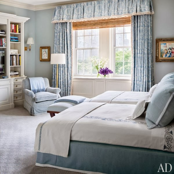 New York Apartment Bedroom Ideas Boys Blue Bedroom Bedroom With Almirah Designs Bedroom Interior Design Tumblr: Mix And Chic: Home Tour- An Elegant New York Apartment In