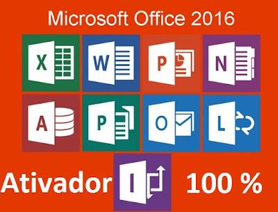 Ativador Permanente Microsoft Office 2016 Capa
