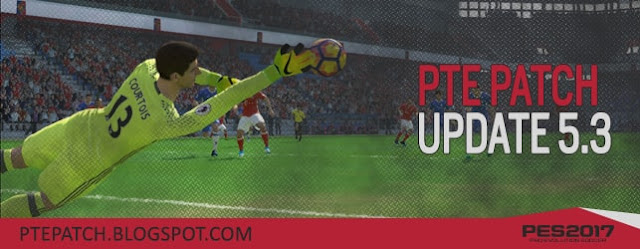 Update Patch PES 2017 dari PTE 5.3