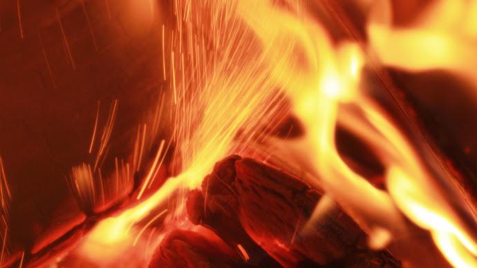 Wallpaper: Inside the Wood Fire