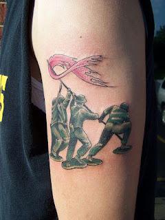 foto 3 de tattoos para luchar contra el cáncer
