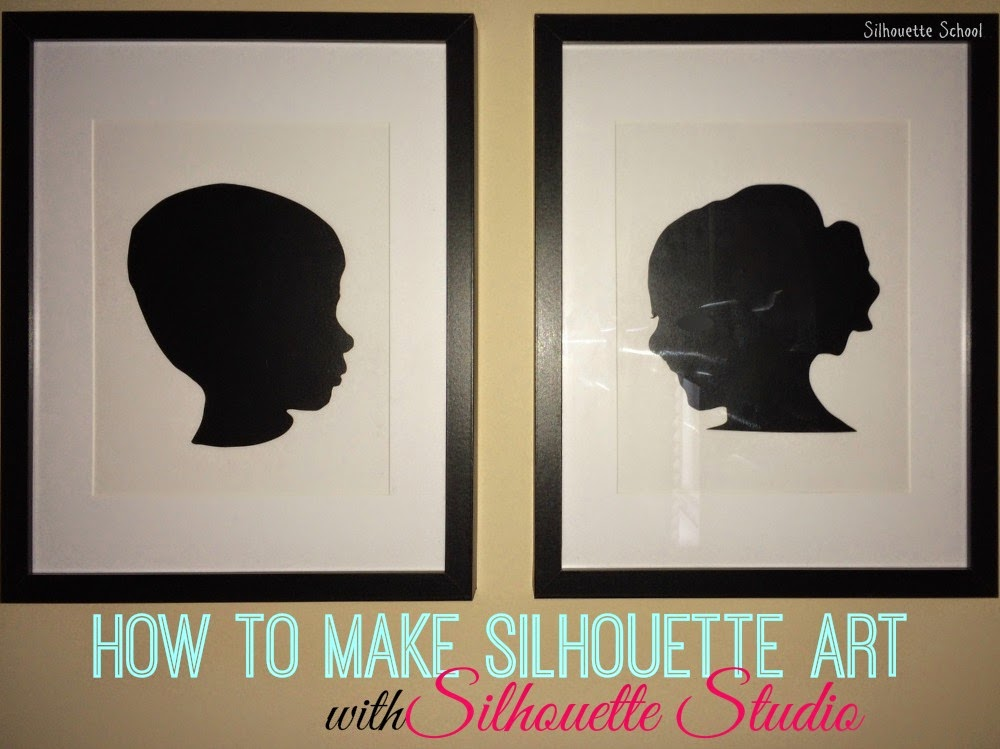 Diy Silhouette Art With Vinyl And Cardstock No Tricky