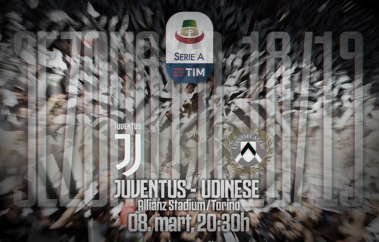 Serie A 2018/19 / 27. kolo / Juventus - Udinese, petak, 20:30h