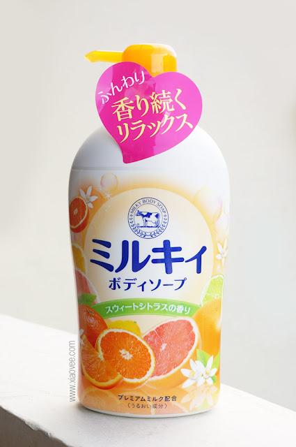 Cowstyle Milky Body Soap, Cowstyle Milky Body Soap Review, Cowstyle Milky Body Soap Nihonmart, Cowstyle Milky Body Soap Sukamart