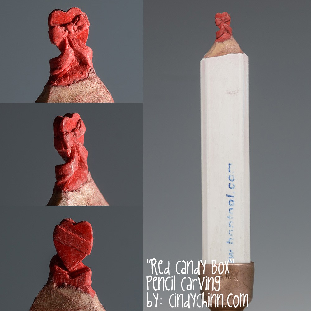 08-Red-Candy-Box-Cindy-Chinn-Miniature-Carvings-of-Pencil-Graphite-www-designstack-co