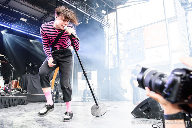 Yungblud at Yonge-Dundas Square on June 16, 2018 for NXNE 2018 Photo by John Ordean at One In Ten Words oneintenwords.com toronto indie alternative live music blog concert photography pictures photos