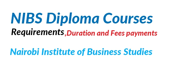 NIBS diploma courses requirements fees